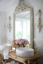 French Cottage Bathroom Vanity How to get the look details FRENCH