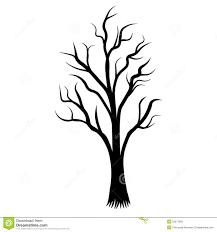Tree Design Tree Decorative Cover Pattern Background Vector Illustration Design