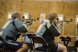 u s department of defense photo essay members of team british armed forces sight in at the 2015 department of defense warrior games