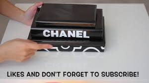 diy chanel book cover