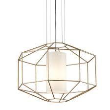 Wire Frame Prism Pendant Octagon Shades Of Light