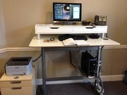 Stand Up Desks Adjustable Ikea Standing Office Desk
