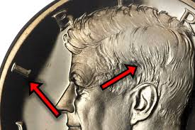 1964 Kennedy Half Dollar Accented Hair Value Chart Kennedy Half Dollar Mint Errors And Varieties