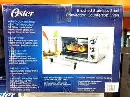 oster convection countertop oven costco toaster oven toaster oven elegant bakers rack 6 slice convection oven