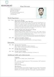 Current Resume Format Layout Current Resume Format Trends 2018