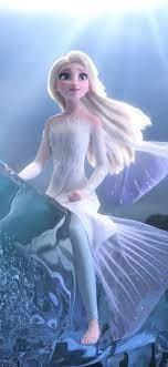 Wallpaper Elsa, Frozen 2, magic water ...