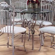 Metal Glass Dining Table Metal Dining Room Chairs Antique Grey Themed Dining Table And