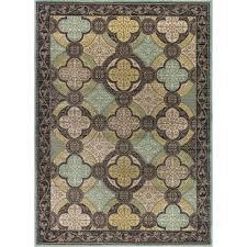 blue green area rugs 5 x 7 medium aqua blue brown and green area rug