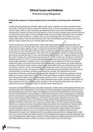 rights and responsibilities essay year hsc legal studies ethical issues human rights essay