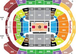 Air Canada Centre Interactive Seating Chart Scotiabank Arena Seating Map Toronto Raptors