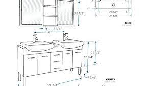 bathroom vanity light height. Standard Bathroom Vanity Height Prepossessing Concept Fireplace Of Light