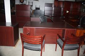 hon executive u shape desk image