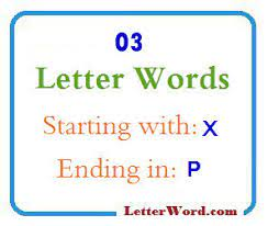 meaning three letter words starting