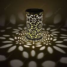 Antieke Solar Lantaarn Buiten Licht Waterdicht Binnentuin Led Decor Lamp