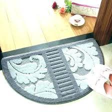 circular rugs half circle round semicircle fresh kitchen area semi rug large half circle braided rugs