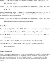 American Psychology Association Format American Psychological Association Apa Style Pdf