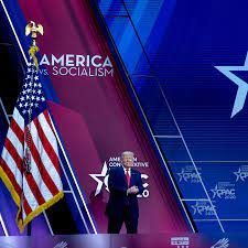 At CPAC, Trump Takes Aim at Rivals ...