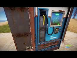 How To Place Vending Machine Rust Beauteous Bug] Robbing The Vending Machine Playrust
