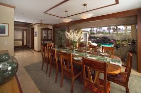 tropical dining room furniture. Appealing Table Runners For Accessories Dining In Room: Tropical Room Design With Furniture I