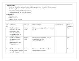 Test Case Template A For Manual Testing Excel – Konfor