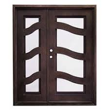 metal front doorAffordable Wrought Iron Doors  Dallas TX