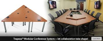 tza modular collaborative conference table system