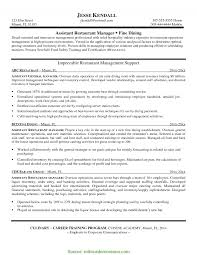 resume for restaurants valuable restaurant marketing manager resume sample collection of