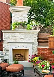 backyard fireplace ideas rooftop fireplace outdoor gas fireplace ideas