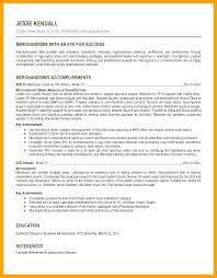 Merchandising Resume Visual Merchandiser Resume Example Examples For Merchandising Sample