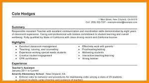 Resume Profile Summary Sample Personal Summary Resume Examples
