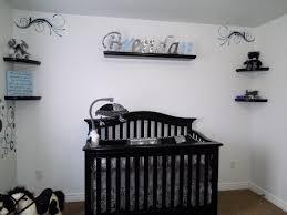 Our Baby Boy\u0027s Nursery Black \u0026 white with accents of Grey \u0026 Blue ...