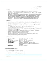 Obiee Sample Resume Resume Business Insider New Breathtaking Sample