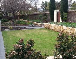 Small Picture Dry stone garden retaining wall Mediterranean Garden