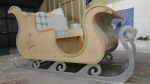the brief was to create a life size sleigh for santa to use whilst many children came to visit him at the winter wonderland during