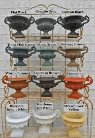 Wrought Iron Color Cast Iron And Cast Aluminum Color Samples