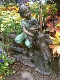 children garden statues. additional views children garden statues