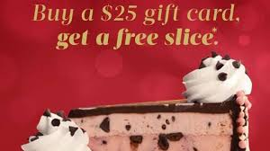 the cheesecake factory gift card offer photo courtesy the cheesecake factory