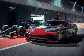 Although the engine in the road car has been detuned, the four electric motors give more electrical assistance than the f1 car gets. Mercedes Amg One Hypercar Tested By Hamilton Due 2021 Car Magazine
