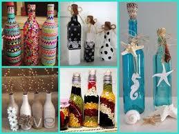 diy room decor 40 beautiful bottle decorating ideas