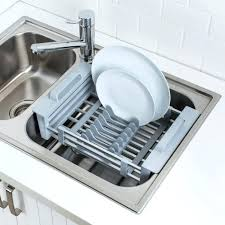 over the sink dish drainer over sink dish rack over the sink dish drainer small