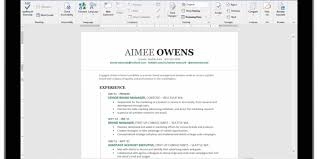 How To Make A Resume In Word Amazing Resume Assistant Uses LinkedIn S Data To Make Word A Better R Sum