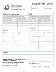 Template Professional Office Cleaning Checklist Template Schedule
