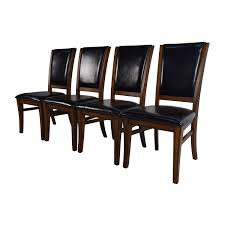 Dining Chair Price 76 Off World Market World Market Leather And Wood Dining Chairs