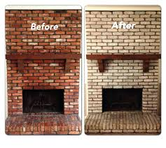how to paint brick fireplace makeover pictures