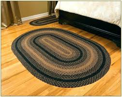 amazing braided oval rugs country ihf decor