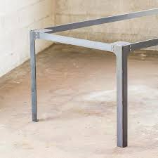 Steel table legs Height Industrial Dining Table Legs 28inches Tall Bold Mfg Industrial Dining Table Legs 28inches Tall Bold Mfg Supply