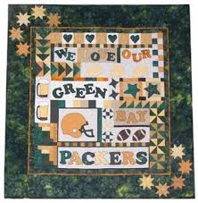 Quilt Essentials - Wall Hangings & We Love Our Green Bay Packers Quilt Adamdwight.com