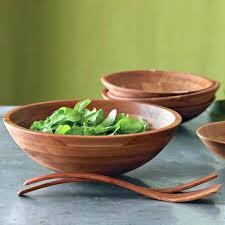 target salad bowl wooden mixing bowl 1 durable handmade nontoxic salad