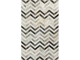 grey and white chevron rug rug chevron hide gray and white chevron rug 5x7
