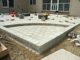 patio pavers over concrete. Thin Patio Pavers Over Concrete Sandbox Inlay Of . B